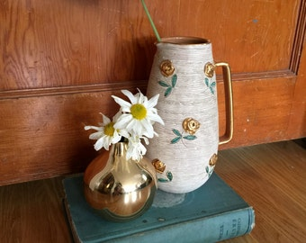 Gorgeous hand made pottery pitcher/vase
