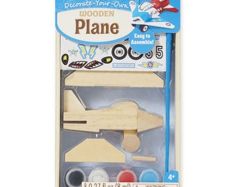 little engineers will enjoy making their own plane