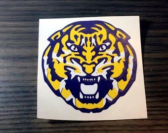 LSU Tiger Decal | Yeti  | Car | laptop