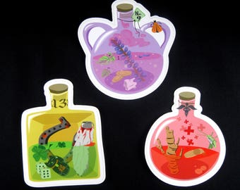 Magical Potion Stickers