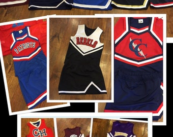 Customized Cheerleading Uniform ~ Youth and Adult Sizes ~ Can do any school or team.  READ ITEM DETAILS for more info.