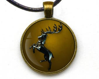Game of thrones baratheon Pendant gifts idea