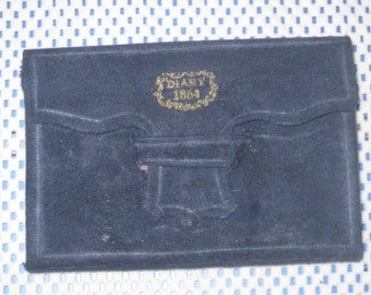 1864 Civil War Pocket Diary