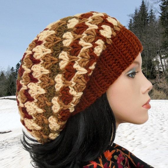 Chunky Hat Pattern Crochet Beanie Hat Tutorial Messy Bun Pattern