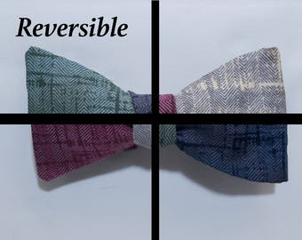 4 Sided reversible Self-tie Bow Tie