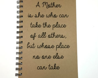 Mothers day from daughter mom poem typographic print mother in mothers day gift moms journal birthday gift to mom poem notebook from daughter from son journal personalized mom gift for mom thecheapjerseys Choice Image