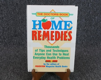 The Doctors Book Of Home Remedies By Editors Of Prevention Magazine C. 1990