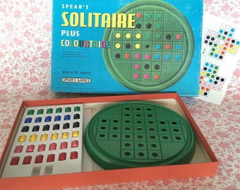 Spears Solitaire / Colourtaire Vintage Game