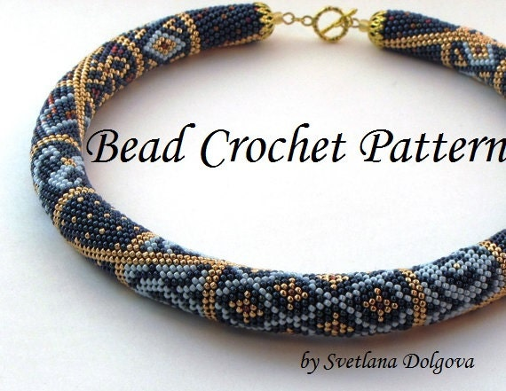 Pattern For Bead Crochet Necklace