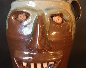 Face Jug - Traditional Style