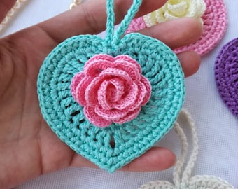 Crochet pattern/Crochet heart/Crochet tutorial