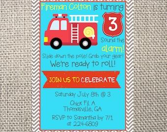 Trunk party invitations Etsy