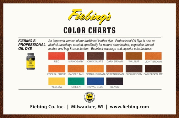 Fiebings Color Chart Ibovnathandedecker