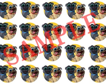 Puppy dog pals Stickers 20pcs.