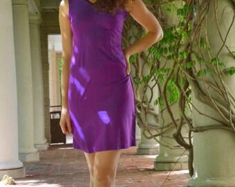 Gem tone cotton dress