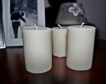 Soy Pillar Candles/ Healthy/ Beneficial/ Non Toxic/ All Natural/ Clean Burning