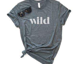 Wild Branded Short-Sleeve Unisex T-Shirt - Soft Tee - Mens and Womens Graphic Tee - Adventure, Camping, Hiking, Vacation, Road Trip Tee