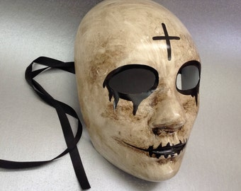 The Purge Cross Mask for Halloween Costume Dress up Cosplay Party