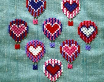 Heart Air Balloon Brooch