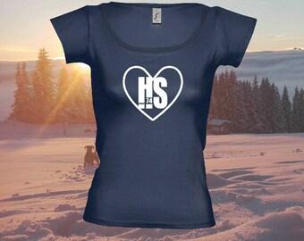 """T-shirt woman """"HS heart"""""""