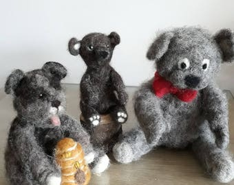 Workshop for Hare or Bear Needle Felting