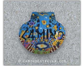 Eye Shell Camino de Santiago Souvenir