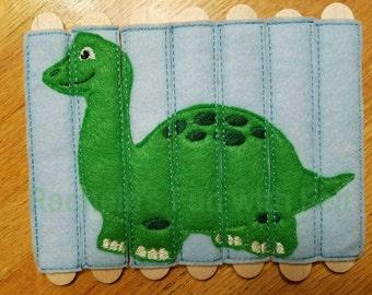 Dinosaur stick puzzle