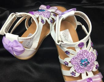 Cleopatra Girl's Sandals - 4 years