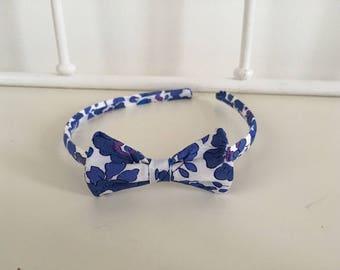 Headband liberty betsy indigo child size