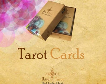 Tarot cards - Fortune Telling - Divination tools - Tarot Gift - Tarot Box - Illustrated Cards - Tarot Deck
