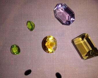 Cut stones
