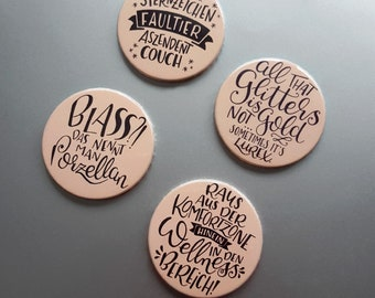 cute as a button Handlettering Typo-Magnete-Set Set Nr. 10 – Komfortzone