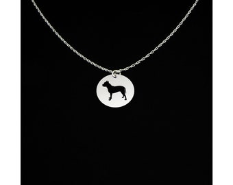 American Staffordshire Terrier Necklace - American Staffordshire Terrier Jewelry - American Staffordshire Terrier Gift