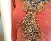 Vintage India Dusty Pink ...