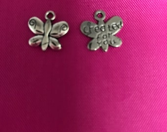 Butterfly Charm Pendant