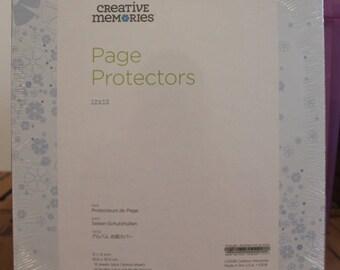 Creative Memories True 12x12 Page Protectors