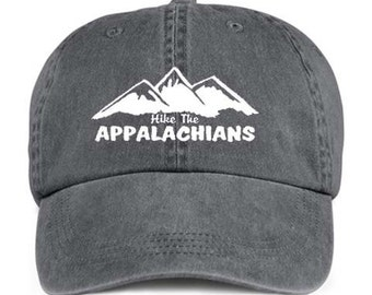 HIKE THE APPALACHIANS Trail Hiking Hiker Baseball Style Cap Hat