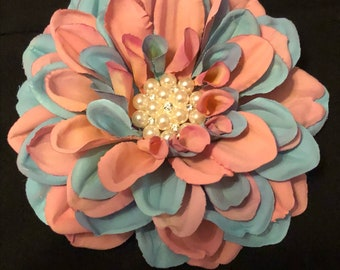 Jack and Jill Inspired Floral Brooch