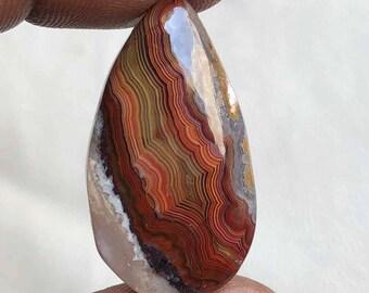 Crazy Lace Stone Cabochon , 31x13 MM, Crazy Lace Gemstone