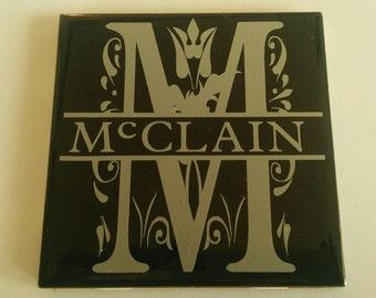 Personalized Coasters - perfect wedding or housewarming gift!