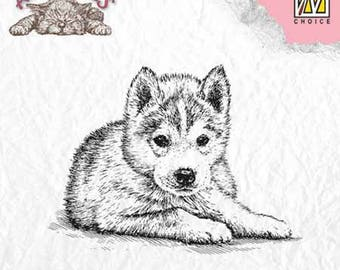 """Puppy"" _ANI011 clear stamp"