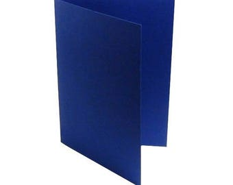 1 x invitation A6 preplie classic blue (Blueberry)