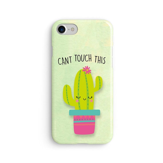 Cactus can't touch this iPhone X case - iPhone 8 case - Samsung Galaxy S8 case - iPhone 7 case - Tough case 1P092