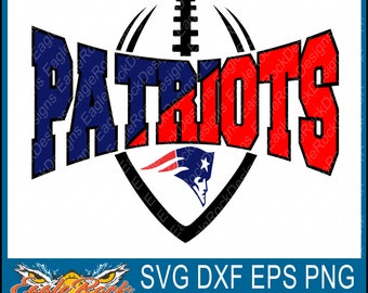 Patriots Football| SVG| DXF| EPS| Png| Cut File| Patriots| Football| Mom| Dad| Mascot| Silhouette| Cricut| Vector| Digital Download