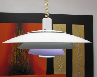 Large Danish Rise and Fall / Pull  Light Horn 1980's