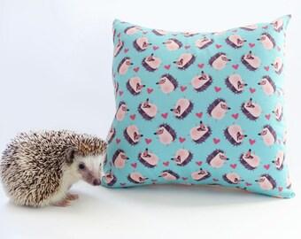 Hedgie Throw Pillow