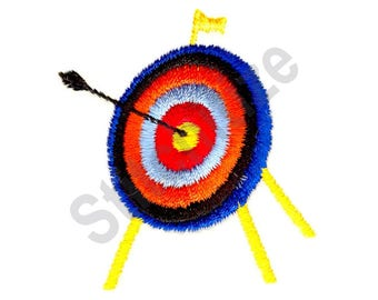 Target - Machine Embroidery Design, Archery, Arrow