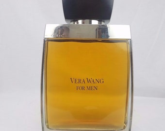 Vera Wang For Men Factice Large Perfume Bottle Authentic Display Wooden Top