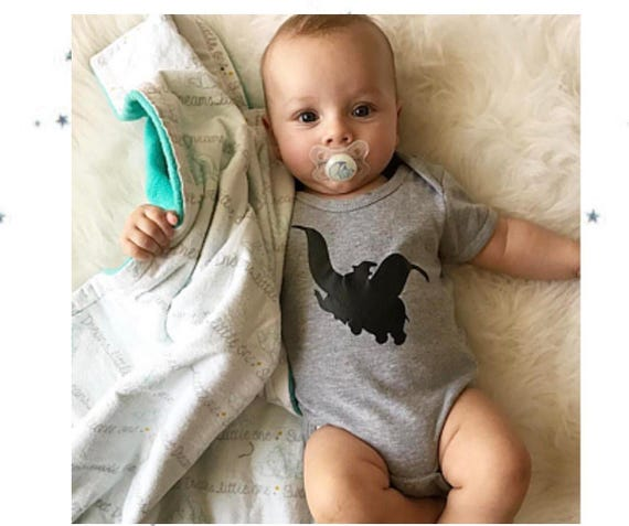 Disney Onesie Dumbo Shirt Baby Boy Outfit Baby Clothes
