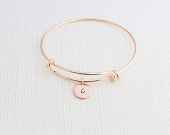 circle bracelets bangle bangles boutique circles rose gold with bracelet happiness en simple